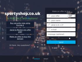 sportyshop.co.uk