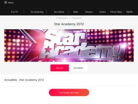 star-academy.programme-tv.net