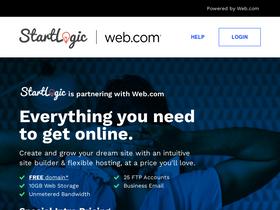 Startlogic com Analytics - Market Share Stats & Traffic Ranking