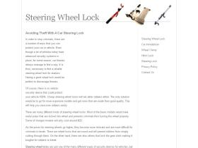 steeringwheellock.net