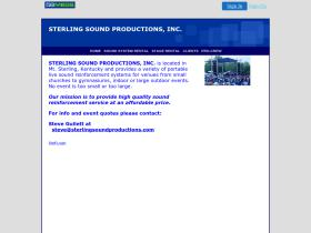sterlingsoundproductions.com