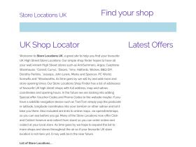 store-locations.co.uk