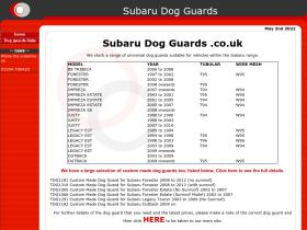 subarudogguards.co.uk