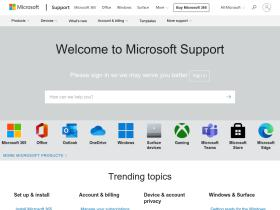 support.microsoft.com