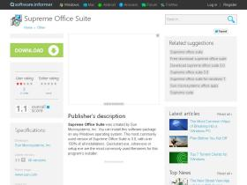supreme-office-suite.software.informer.com