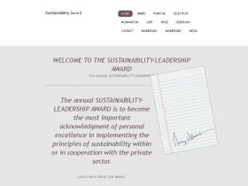 sustainability-award.com