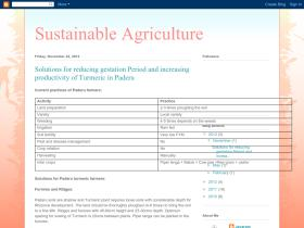 sustainableagriculture.blogspot.in