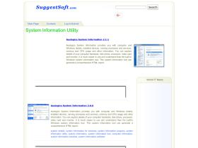 system-information-utility.suggestsoft.com