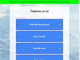 tademe.co.nz