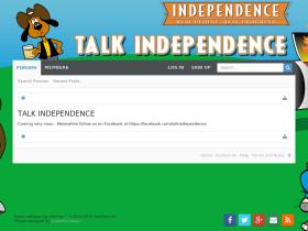 talkindependence.com