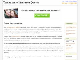 tampafloridaautoinsurance.com