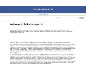 tatkalpassport.in