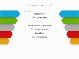 the-streaming-lounge.co.uk