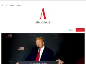 theatlantic.com Analytics Stats