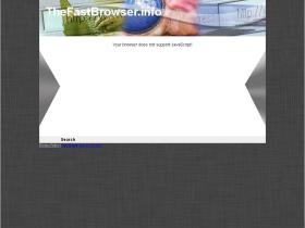 thefastbrowser.info