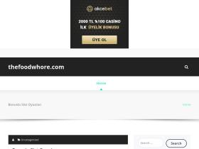 thefoodwhore.com