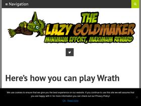 Thelazygoldmaker com Analytics - Market Share Stats