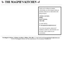 themagpieskitchen.co.uk