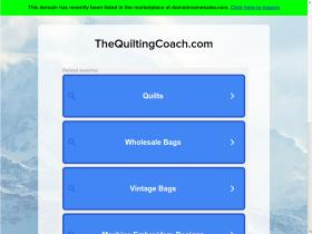 thequiltingcoach.com
