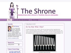 theshrone.blogspot.com
