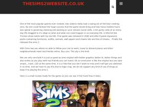 thesims2website.co.uk