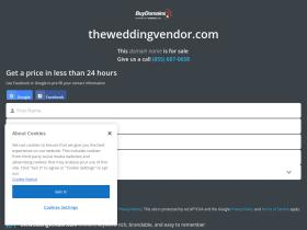 theweddingvendor.com