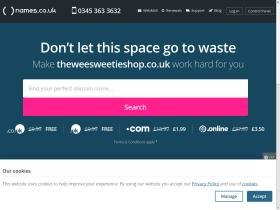theweesweetieshop.co.uk