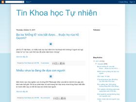tinkhoahoctunhien.blogspot.com