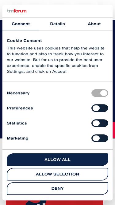 Tmforum org Analytics - Market Share Stats & Traffic Ranking