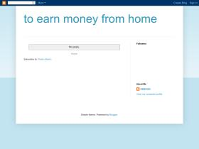 to-earn-money-from-home.blogspot.com