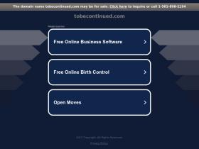 tobecontinued.com