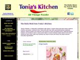 toniaskitchen.com