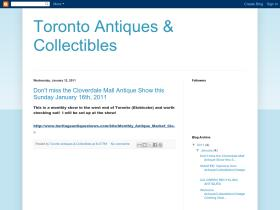 torontoantiquesandcollectibles.blogspot.com