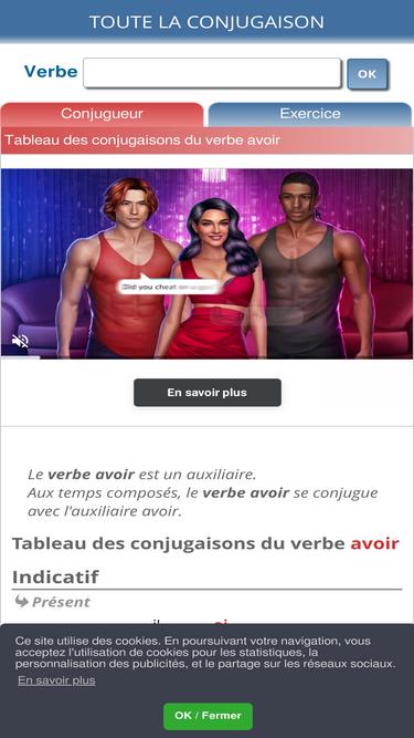 Toutelaconjugaison Com分析 Ÿ'場シェアデータとランキング Similarweb