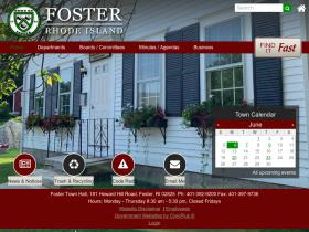 townoffoster.com