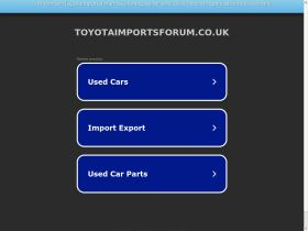 toyotaimportsforum.co.uk