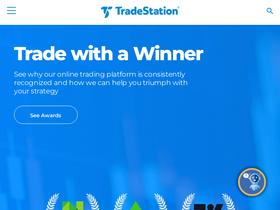 Tradestation com Analytics - Market Share Stats & Traffic