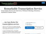 transcriptionpro.net