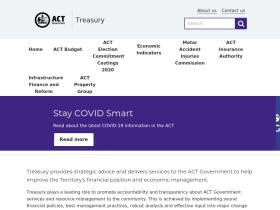 treasury.act.gov.au