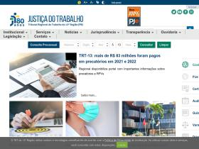 trt13.jus.br