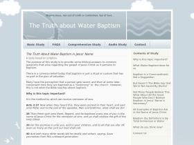 truthaboutbaptism.com