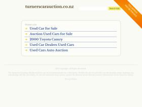 turnerscarauction.co.nz