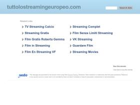tuttolostreamingeuropeo.com Analytics Stats