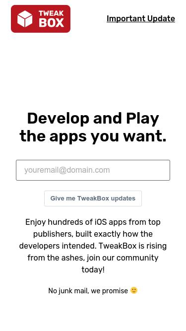 Tweakboxapp com Analytics - Market Share Stats & Traffic Ranking