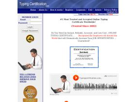 typingcertification.com