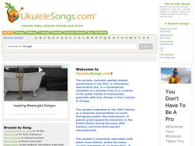 ukulelesongs.com