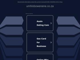 umhlobowenene.co.za