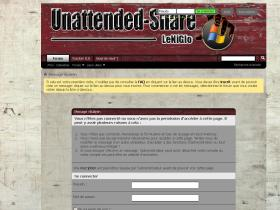unattended-share.fr
