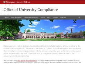 universitycompliance.wustl.edu