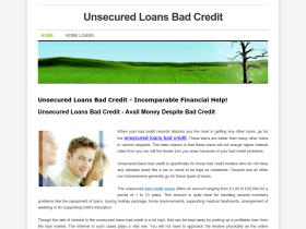 unsecuredloansbadcredit.weebly.com